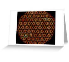 Metatron's Sun Greeting Card