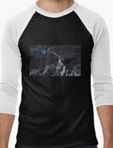 Lunar Warming Men's Baseball ¾ T-Shirt