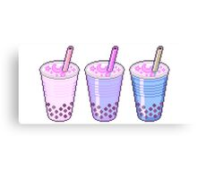 Pixel Milkshakes Canvas Print