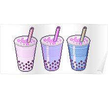 Pixel Milkshakes Poster