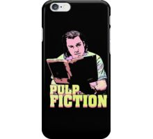 Vincent Vega Black Light iPhone Case/Skin