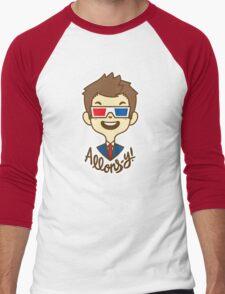 chibi!Allons-y Men's Baseball ¾ T-Shirt