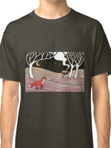 Stargazing - Fox in the Night Classic T-Shirt