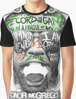 Conor McGregor Face Graphic T-Shirt