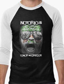 Conor McGregor Face Men's Baseball ¾ T-Shirt