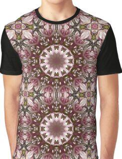 Flower Mandala, Spring blossoms Graphic T-Shirt