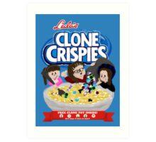 Clone Cripsies Art Print