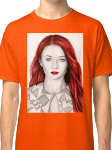 Pencil Sophie Turner Classic T-Shirt