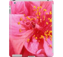 Pink Perfection, Hibiscus, Wollongong, Australia. iPad Case/Skin