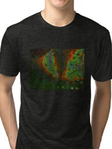 Xmas Stars Tri-blend T-Shirt
