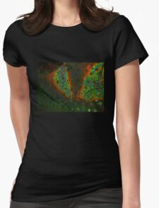 Xmas Stars Womens Fitted T-Shirt
