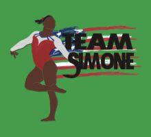 Team Simone Biles - USA (Olympic)  One Piece - Short Sleeve