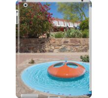 USA. Arizona. Scottsdale. Taliesin West. Fountain. iPad Case/Skin
