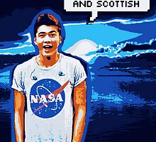 Calum Hood - Space Ranger by curiouslyalli