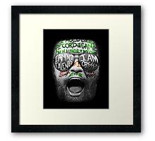 McGregor VS Diaz UFC202 Framed Print