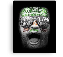 McGregor VS Diaz UFC202 Canvas Print