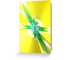Colored IV Greeting Card