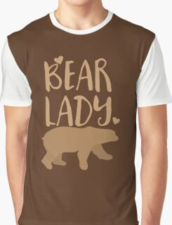 Bear Lady Graphic T-Shirt