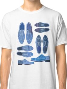 Blue Brogue Shoes Classic T-Shirt