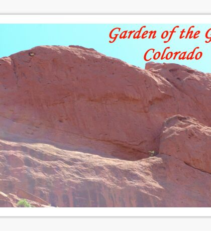 Garden of the Gods #5 Sticker