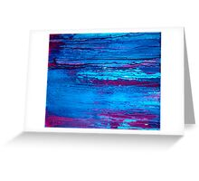 Abstract Marine Greeting Card
