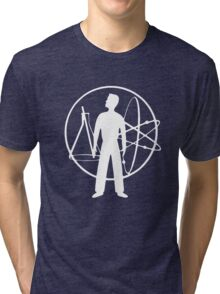 Duty Now For The Future - White Tri-blend T-Shirt