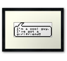 Cool Guy Framed Print