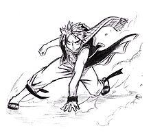 Fairy Tail - Natsu Sketch  by iiKyro