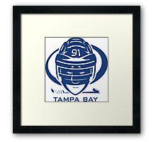 Tampa Bay Hockey T-Shirt Framed Print