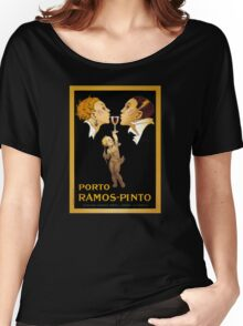 French Vintage Poster Restored Women's Relaxed Fit T-Shirt
