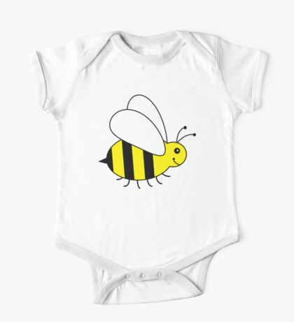 Baby Bumble Bee One Piece - Short Sleeve