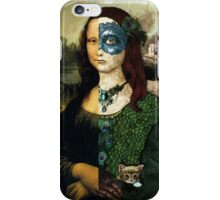 Altered Mona Lisa iPhone Case/Skin