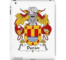 Duran Coat of Arms/Family Crest iPad Case/Skin
