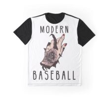 Modern Baseball Graphic T-Shirt