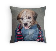 Shelter Pets Project - Rubin Throw Pillow