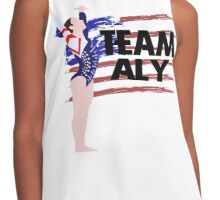 Team Aly Raisman - USA  Contrast Tank