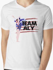 Team Aly Raisman - USA (Olympic)  Mens V-Neck T-Shirt