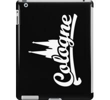 Cologne Classic mit Kölner Dom (Schwarz/Weiß) iPad Case/Skin