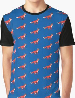 Stargazing - Fox in the Night Graphic T-Shirt