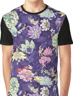 The Garden Party - blueberry tea version Graphic T-Shirt