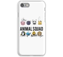 Animal Squad! Now with signatures! iPhone Case/Skin
