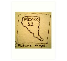 The 51st State. Art Print