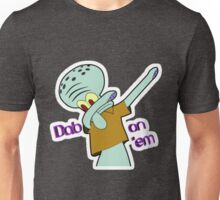 Squidward Dab Unisex T-Shirt