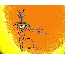 Vegetable Juice Photographic Print