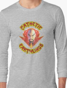 Ming The Merciless Distressed Variation 2 Long Sleeve T-Shirt