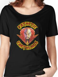 Ming The Merciless Distressed Variation 2 Women's Relaxed Fit T-Shirt