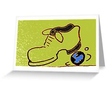 If the shoe fits. Greeting Card