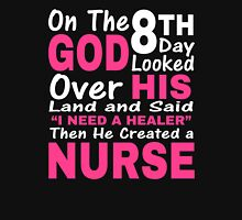 ON THE 8TH DAY GOD LOOKED Unisex T-Shirt