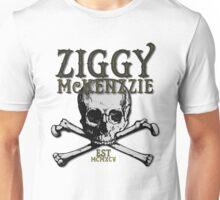 Ziggy McKenzzie Skull Design Unisex T-Shirt