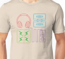 The Audiophile Pattern Unisex T-Shirt